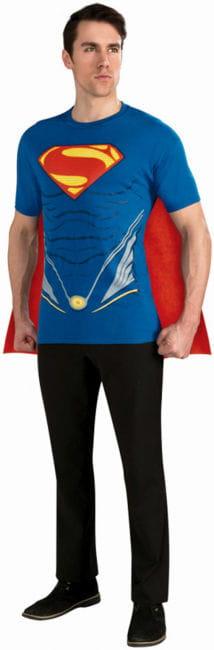 T-Shirt Superman mit Umhang