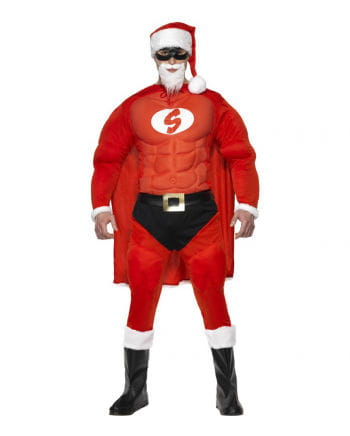 Super Santa Men Costume
