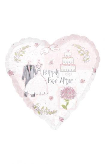 Folienballon Sweet Romance