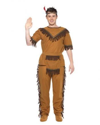 Tapferer Indianer Kostüm