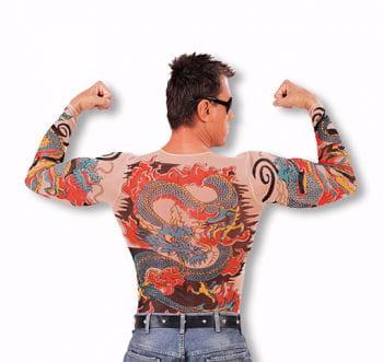 Tattoo Shirt Tiger and Dragon