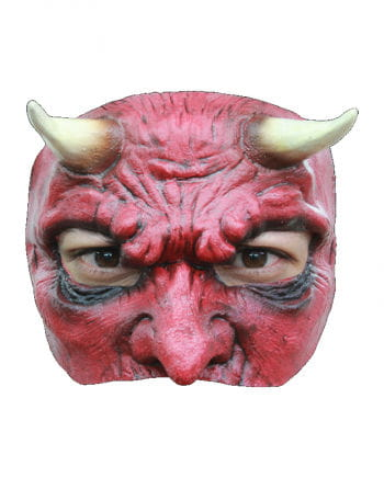 Satan Halbmaske