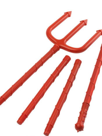 Devil Pitchfork Red 168 cm