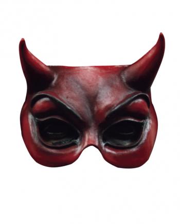 Teufels Halbmaske rot
