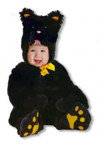 Kleine schwarze Katze Kinderkostüm Large