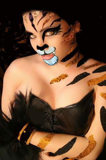 Xotic Eyes Tiger Make Up Set