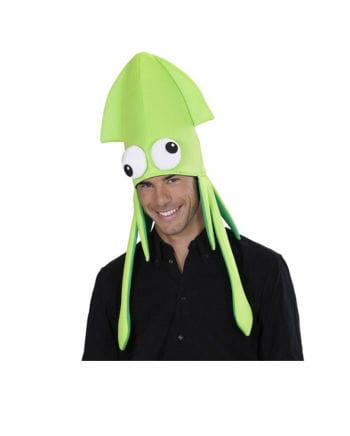Tintenfisch Mütze grün