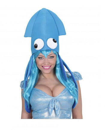 Squid Hat Blue