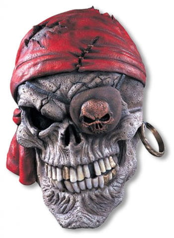 Pirate Skull Latex Mask