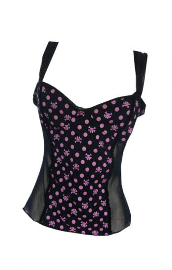 Pink Skull Mini Top tip size SM