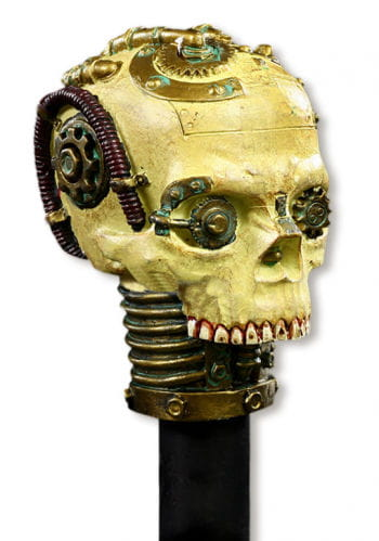 Skull Walking Stick Steampunk