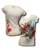 Totenkopf Gitarren T Shirt Gr. L