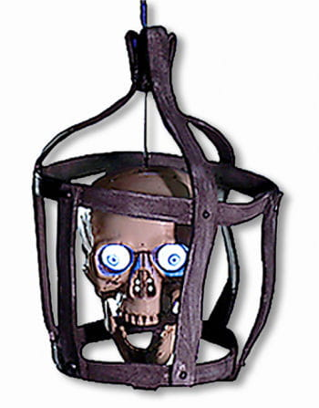 Talking Skull cage Animatronic