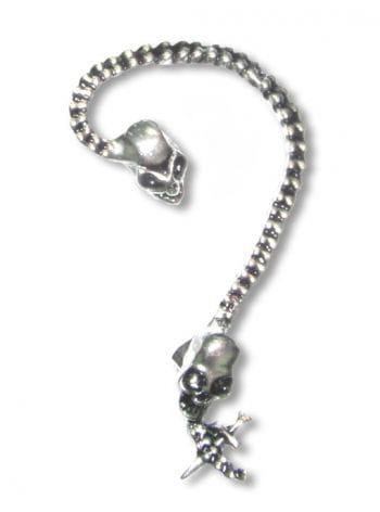 Totenkopf Ohrring