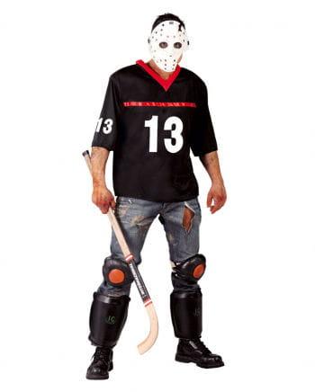 Eishockey Herrenkostüm mit Maske