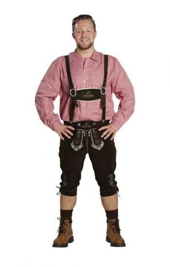 Bayrische Trachten Lederhose als Kostüm