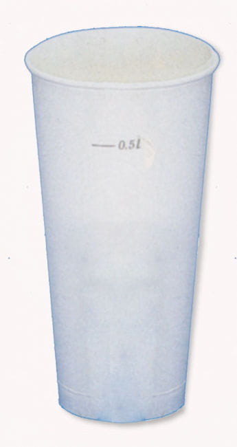 Cup 0,5l 65 St. Clear
