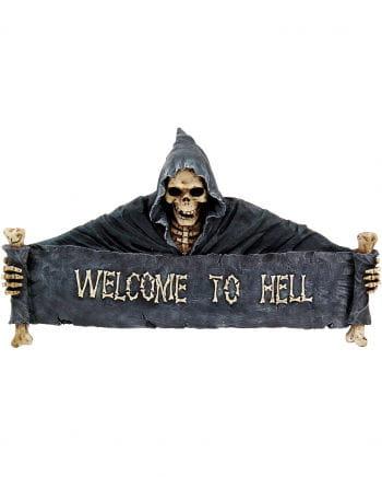 Welcome to Hell Türschild groß