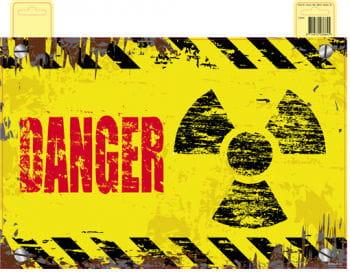 Türschild Radioaktive Gefahr