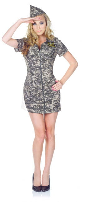 US Army Camo Dress for Ladies