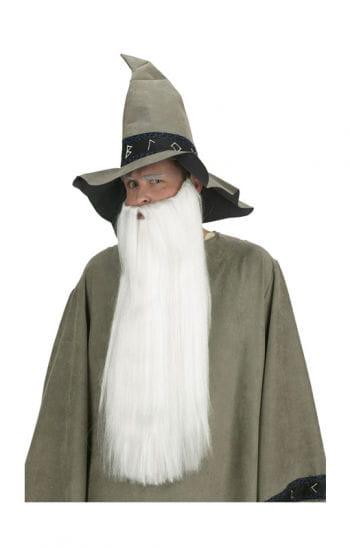 Ultra long Beard white