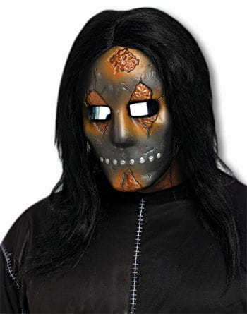 Creepy Doll Face Mask Metallic
