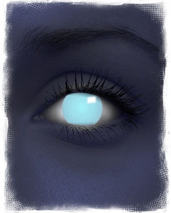 Electric Blue UV Contact Lenses