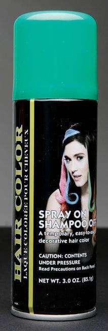 Grünes Haarspray