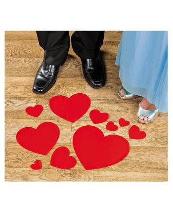 Valentine Heart Sticker floor