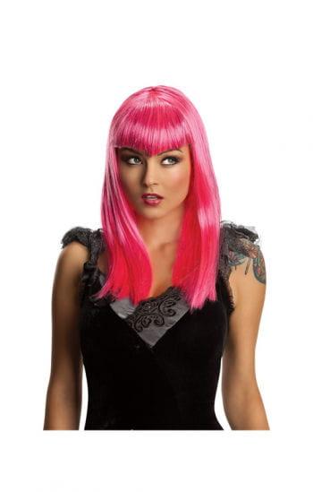 Vampire Glitter Wig Pink