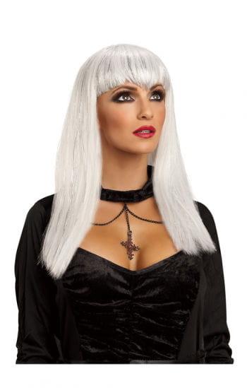 Vampir Haarsatz weiß
