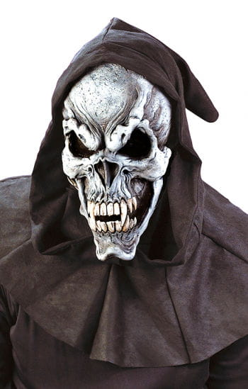 Beast Skull Maske Deluxe grau