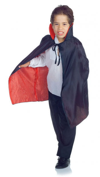 Child Vampire Cape Black/Red