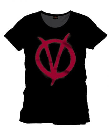 V wie Vendetta Logo T-Shirt