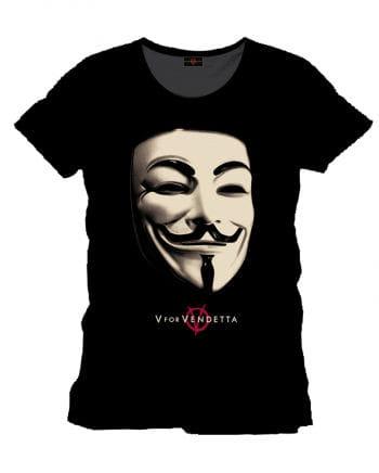 Vendetta T-Shirt Anonymous