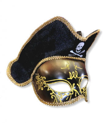 Venezia pirate mask gold