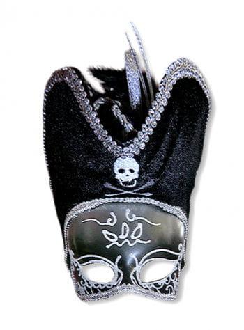 Venezia Piraten Maske silber