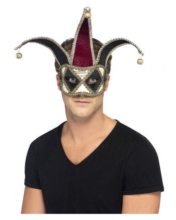 Venezianische Hofnarren Maske