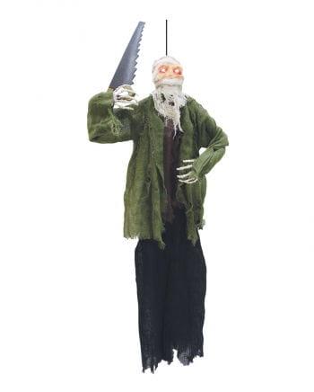 Horror Mumie mit Säge