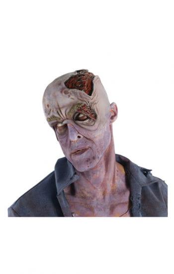 Verwesender Zombie Kopf Applikation
