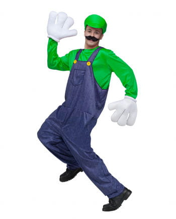 Kostüm Videospiel Klempner 2