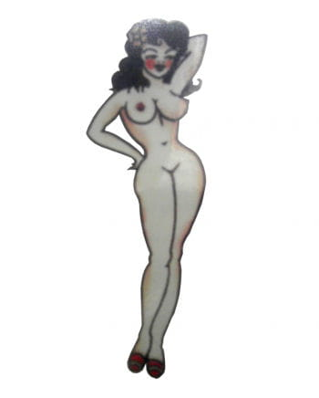 Sticker Tattoo Pirate Pin Up Girl