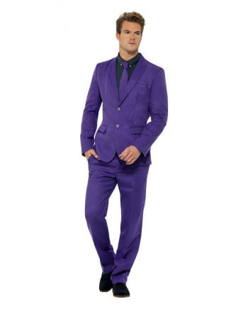 Men`s purple suit