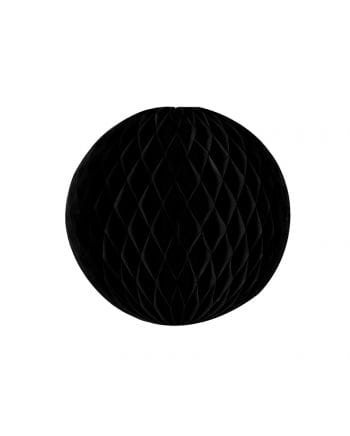 Honeycomb ball black 20 cm