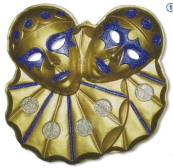 Wall Decor Twin Clowns Gold 5 PCS