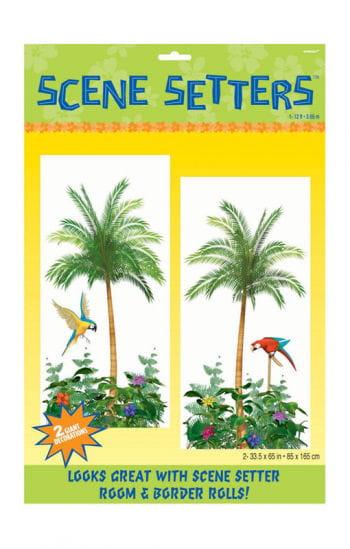 Wandfolie Karibik Paradies