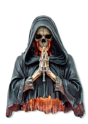 "Wall Light ""Praying Reaper"""