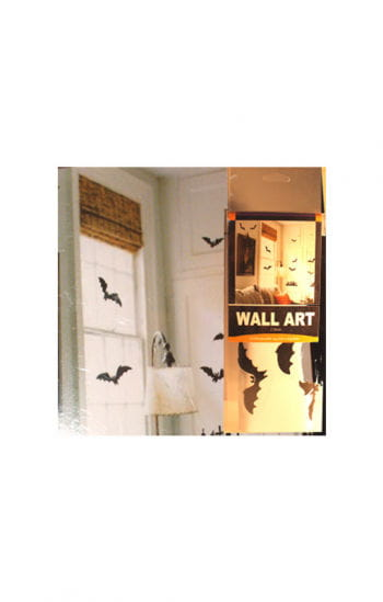 Bat and cemetery wall stickers