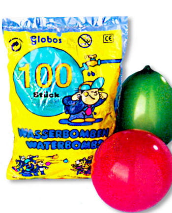 Water Balloons Coloured 100 PCS