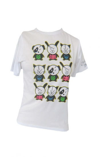 Scary Animal White S/ M